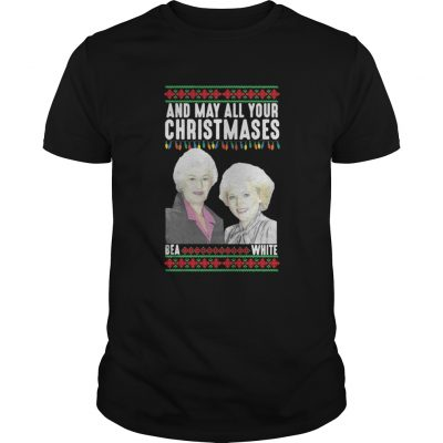 And my all your Christmases Bea White ugly guys shirt