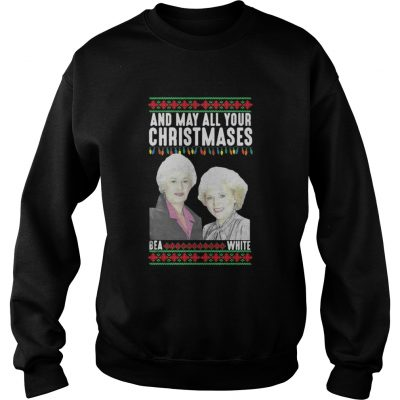 And my all your Christmases Bea White ugly sweater shirt