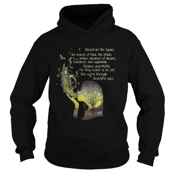 Blessed are the gypsies the makers of music the artists writers Hoodie