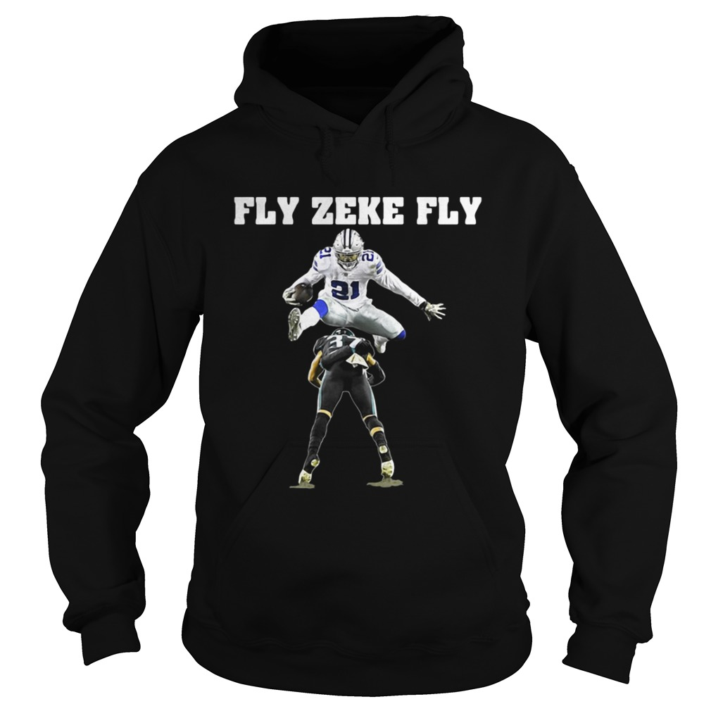 Ezekiel Elliott Fly Zeke Fly Dallas Cowboys shirt - beautshirts.com 4ef294989