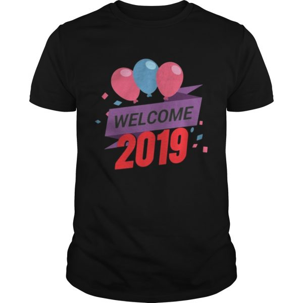 Happy New Year 2019 Tee guys Shirt