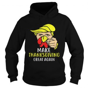 Happy Thanksgiving Daytrumpsgiving Turkey Face hoodie Shirt