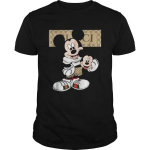 If You Like Gucci With Mickey Mouse guys Shirt