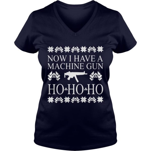 Now I have a machine gun ho ho ho red sweat VNeck
