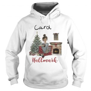 Official Carols This Is My Hallmark Christmas Movie Watching hoodie Shirt