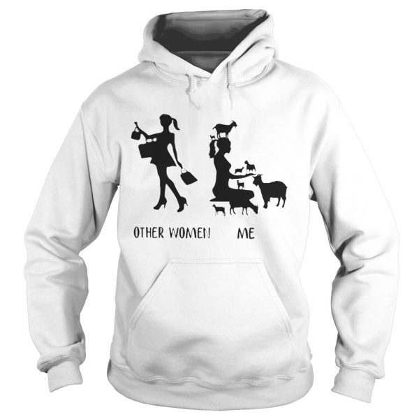 Other woman like shopping me like farm hoodie shirt