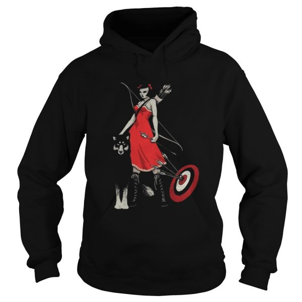 Princess Mononoke hunts with her wolf brother Hoodie
