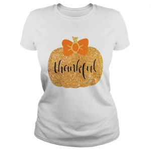 Thankful pumpkin Ladies Tee