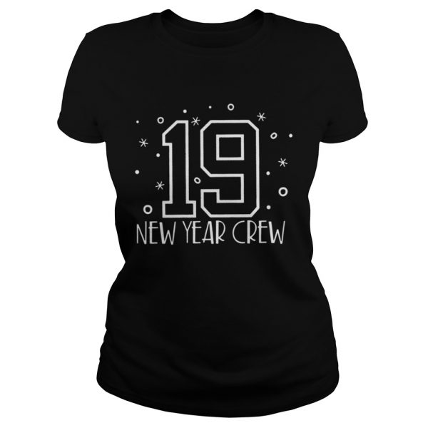 2019 New Year Crew ladies Tshirt