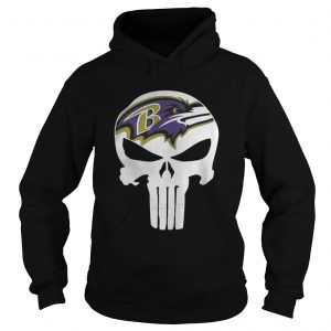 Baltimore Ravens Punisher NFL hoodie shirt