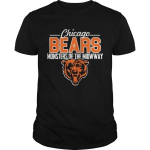 Chicago Bears monsters of the midway tiger guys shirt
