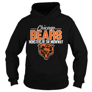 Chicago Bears monsters of the midway tiger hoodie shirt