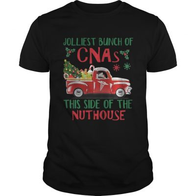 Jolliest Bunch of CNAs This Side of The Nuthouse guys shirt