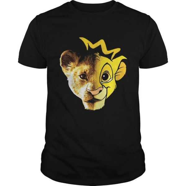 Lions Disney Lion King Face guys shirt
