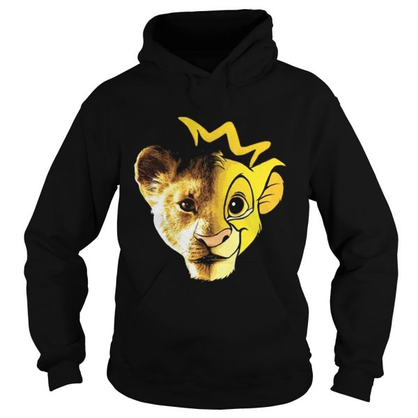 Lions Disney Lion King Face hoodie shirt