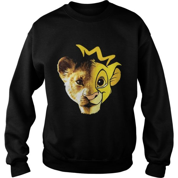 Lions Disney Lion King Face sweat shirt