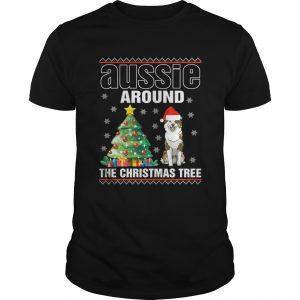 Official Aussie Around The Christmas Tree guys Shirt