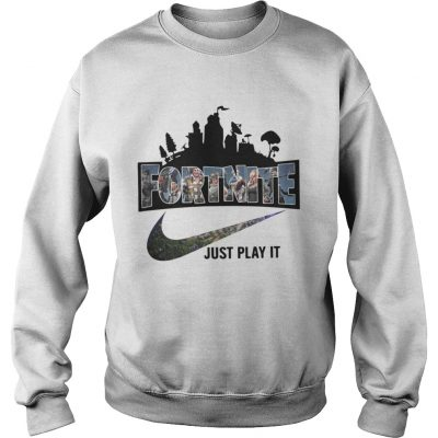 Official Fortnite Just Play It Shirt Beautshirts Com