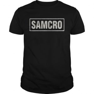 Official Sons of anarchy Samcro guys shirt
