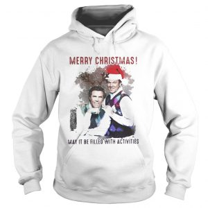 Step Brothers Merry Christmas may it be filled with activities hoodie shirt