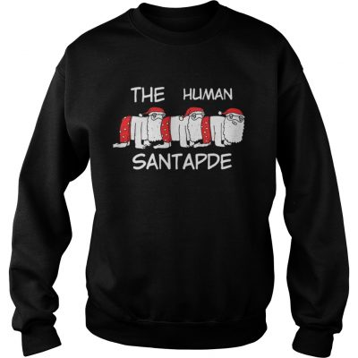 The Human Santapede Ugly Christmas sweat Shirt