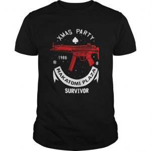 Xmas party 1988 nakatomi plaza survivor guns guys shirt
