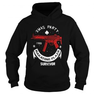 Xmas party 1988 nakatomi plaza survivor guns hoodie shirt