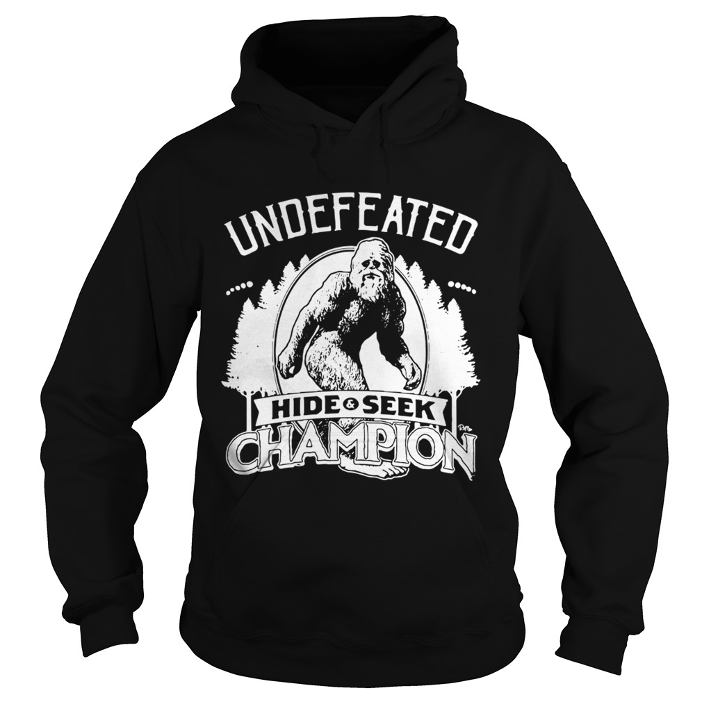 8a524e71 Official Bigfoot undefeated hide and seek champion shirt - Tshirt Store