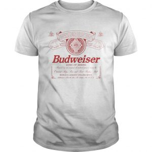 Budweiser King of beers guy shirt