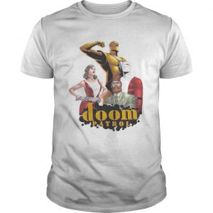 Doom Patrol Classic Comics guy shirt