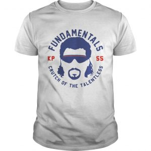 Fundamentals crutch of the talentless guy shirt