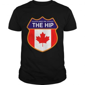 Since 1984 the Tragically Hip Canada guy shirt