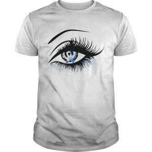 Diabetes and cancer awareness in the eye guy shirt
