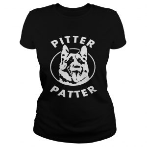 Dog Pitter patter ladies shirt