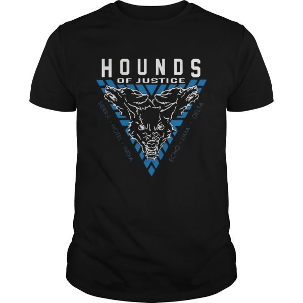 The Shield Hounds of Justice Authentic guy shirt