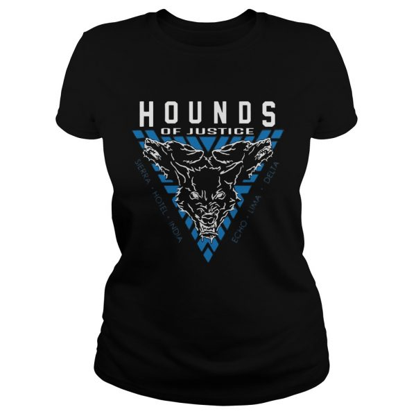 The Shield Hounds of Justice Authentic ladies shirt