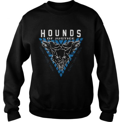 The Shield Hounds of Justice Authentic sweat shirt