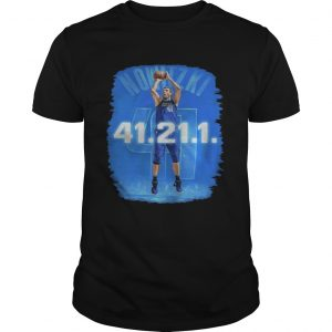 Dallas Mavericks Dirk Nowitzki 41 21 1 guy shirt