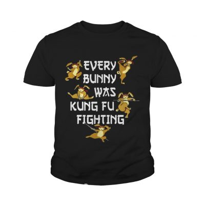 b33799b0f Every Bunny Was Kung Fu Fighting Funny Easter's Day shirt - Online ...