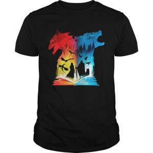 Game Of Thrones Book of fire and ice guy shirt