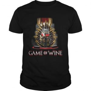 Game of Thrones Game of wine guy shirt