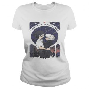 Howl and Sophie a hearts heavy burden ladies shirt