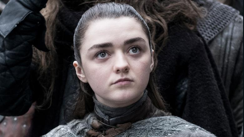 Maisie Williams wasn't so sure she was ready for the Winterfell battle