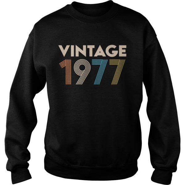 Official vintage 1977 sweat shirt