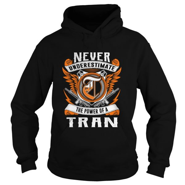 anever underestimate the power of the tran hoodie tshirt