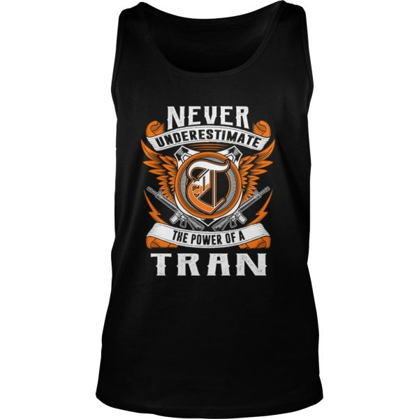 anever underestimate the power of the tran tank top tshirt