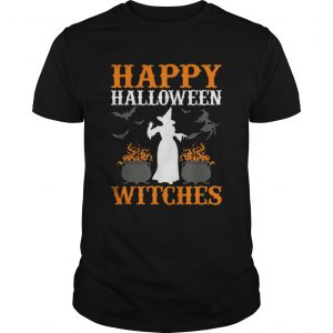 Hot Happy Halloween Witches Cute Spell Casting Witch shirt