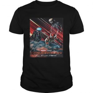 Marvel Studios SpiderMan far from home poster shirt