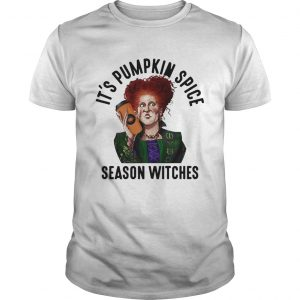 Winifred Sanderson Its pumpkin spice season witches shirt