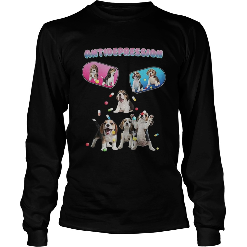 Antidepression cute beagles dogs LongSleeve